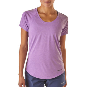 Patagonia Nine Trails - Camiseta manga corta Mujer - violeta
